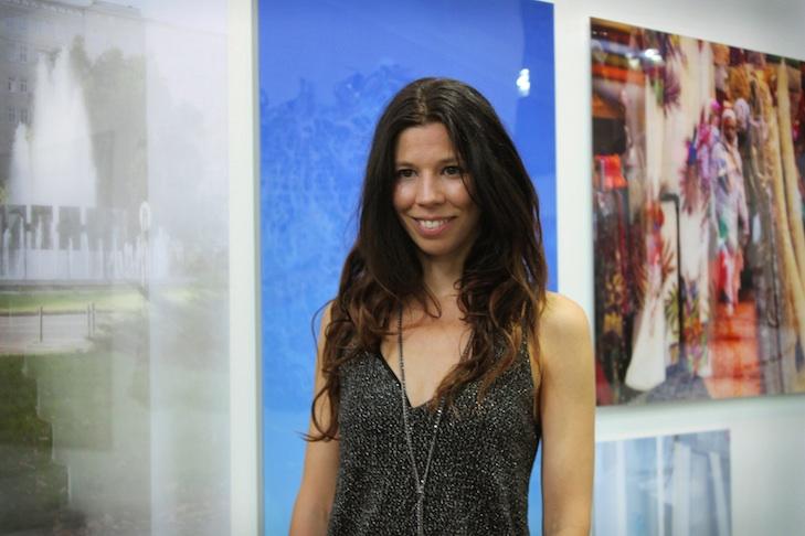Franziska Stünkel auf der Positions Art Fair in 2015