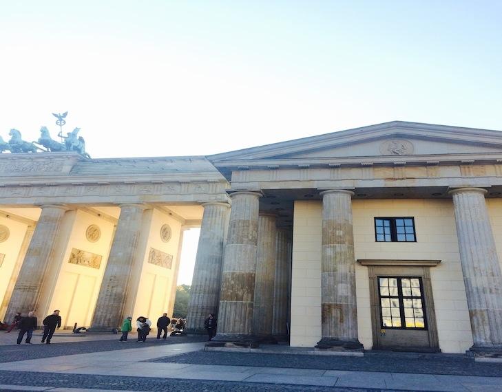 Raum der Stille, Brandenburger Tor - photo: Franziska Stünkel