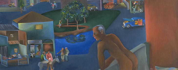 Bhupen Khakhar: You Can't Please All, 1981, Tate © Estate of Bhupen Khakhar