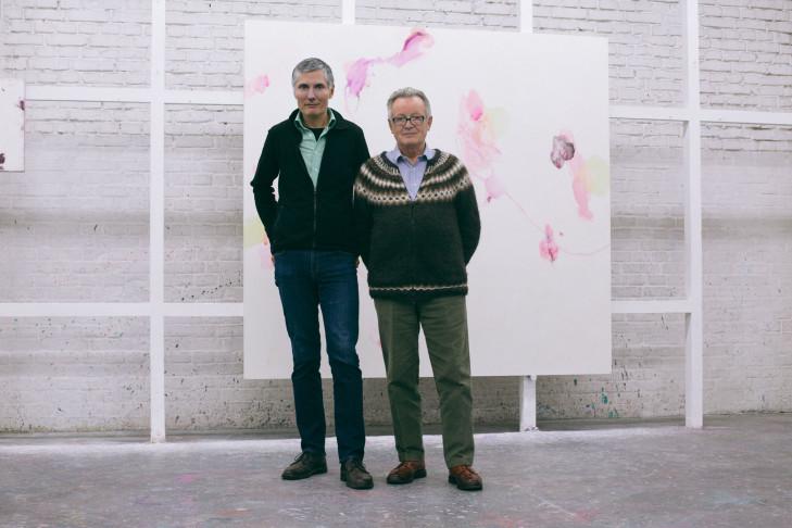 Bernd Koberling und sein ehemaliger Schüler Peter Stauss, Foto: Katrin Leisch