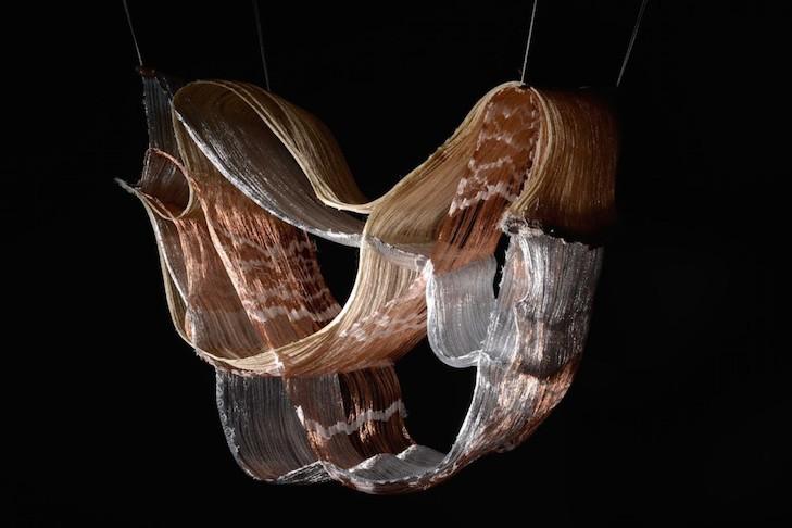 Textilskulptur, Ursula Wagner, Foto: Juliane Eirich, 2013