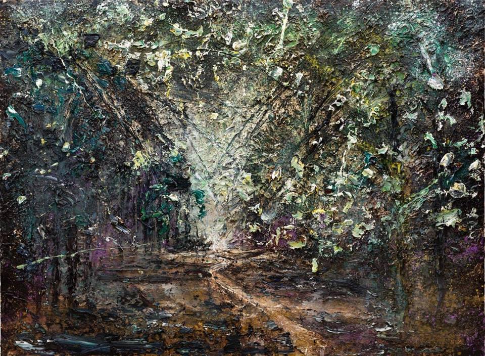 Waldsteig (für Adalbert Stifter), Anselm Kiefer 2015-16