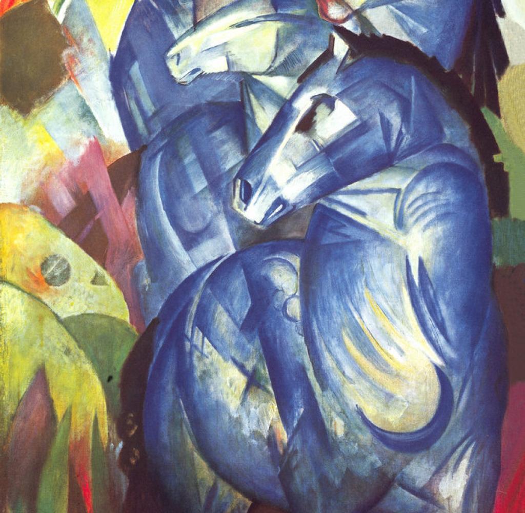 Franz Marc, Der Turm der Blauen Pferde, 1913