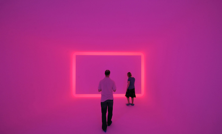 "James Turrell, ""Floater"" - Zentrum für internationale Lichtkunst, Unna"