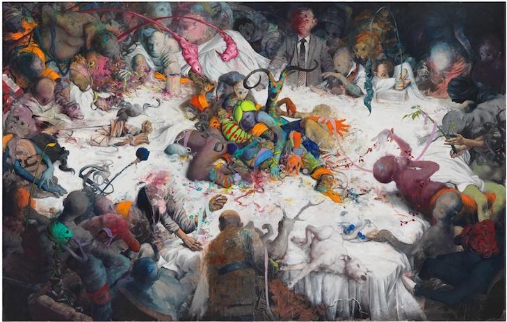 Jonas Burgert Anfrass (2017) courtesy the artist and Blain Southern