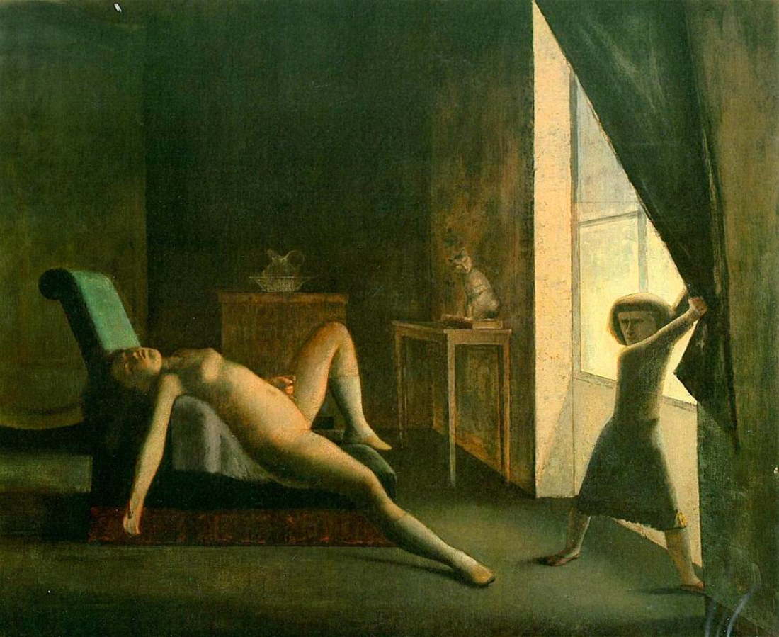 The Room, Balthus, 1953