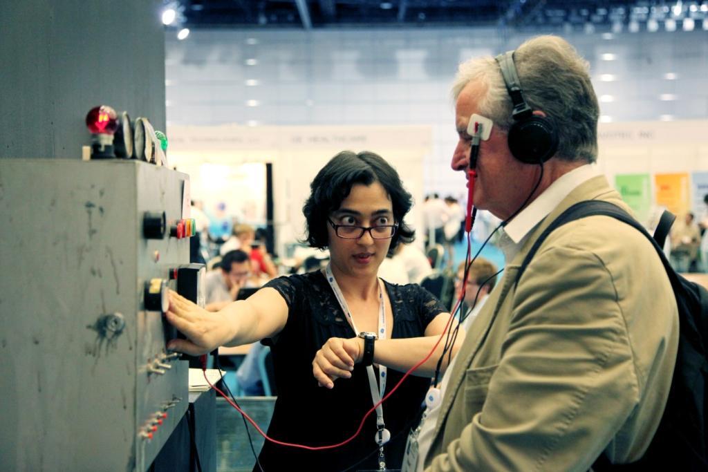 Shubigi Rao introducing S. Raoul's invention, Shubigi Rao, 2013, via  The Neuro Bureau