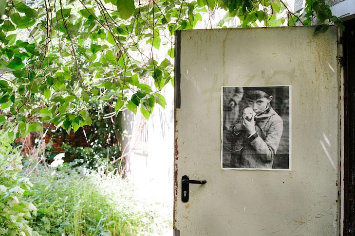 Berlin Studio of Daniel Lannes by Kathrin Leisch