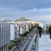 Blick auf Athen von der Dachterrasse des EMST.