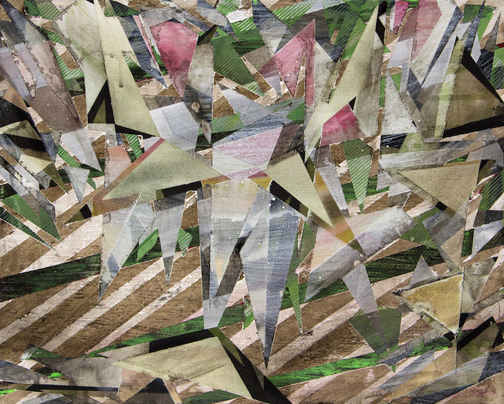 Fahrbereitschaft, acrylics on canvas, 50 x 40, 2016