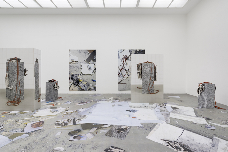 """Peles Empire, Installation view, """"Made in Germany Drei"""", Kunstverein Hannover, Hanover, Germany, 2017"""
