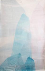 G8H8 Serigarfie auf Leinwand 90x140cm 2014