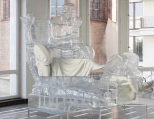 Oliver Laric Beethoven, 2016 Stereolithography, TuskXC2700T, aluminum base 240 x 107 x 156 cm 94 1/2 x 42 1/4 x 61 1/2 in Unique photo: Andrea Rossetti courtesy the artist and Tanya Leighton, Berlin