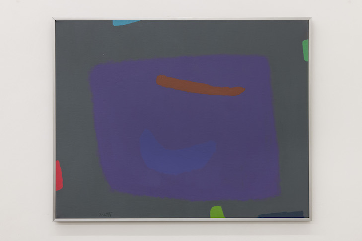 The Purple Cookie Eater, 1981 I Acryl auf Leinwand / Acrylic on canvas
