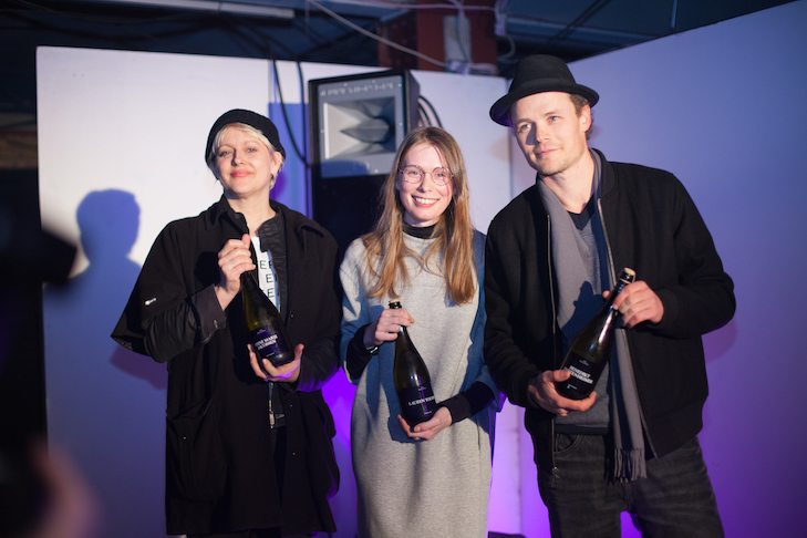 Berlin Art Prize 2016 Winners Credit Florian Denzin