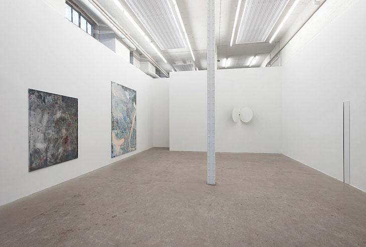 Matthias Reinmuth, Stephanie Stein: fold. Exhibition view 2017