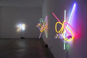 Ausstellungsansicht Commedia della Luce Serie, Susanne Rottenbacher CCA Andratx | Photo Credit: Claus Rottenbacher
