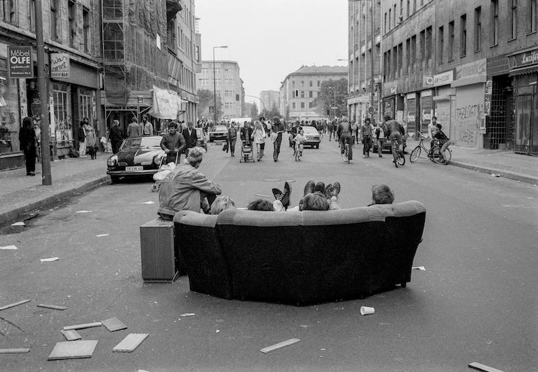 Michael Hughes, Westberlin in den 1980er Jahren (Oranienstrasse) Copyright: Michael Hughes