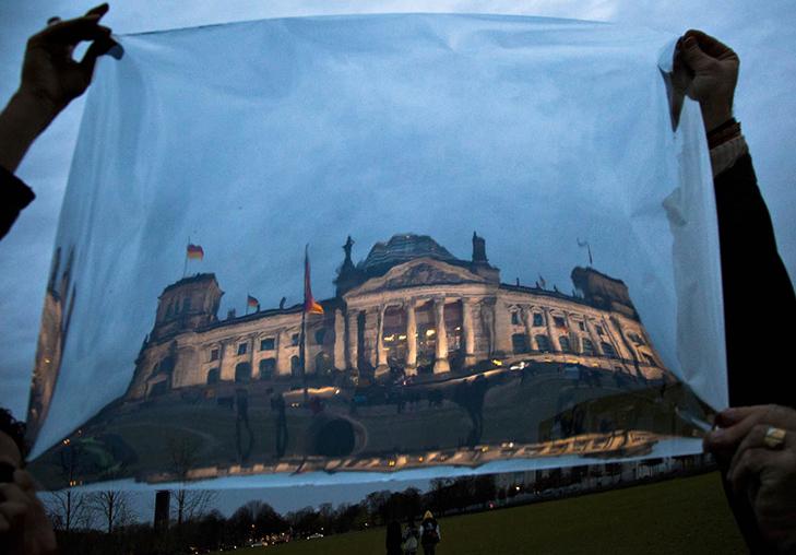 """""""Reflexion City"""" Berlin, Reichstag 01, 2010 © Semra Sevin"""