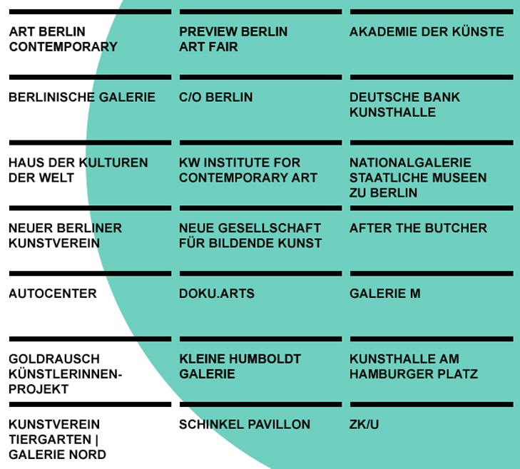 Berlin Art Week Partner